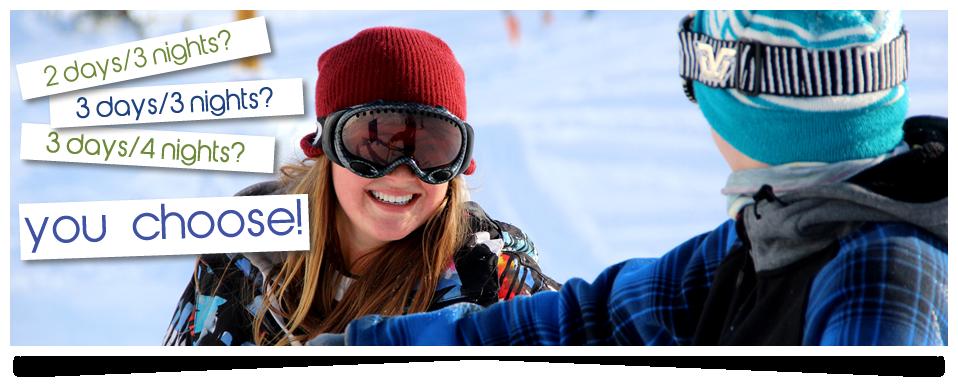 Courts séjours de ski
