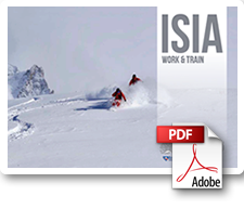 interski isia work and train course brochure