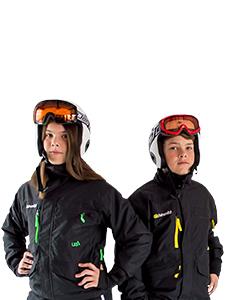 Rental Jacket & Ski Helmet