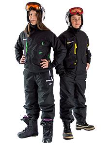Rental Ski Suit and Helmet
