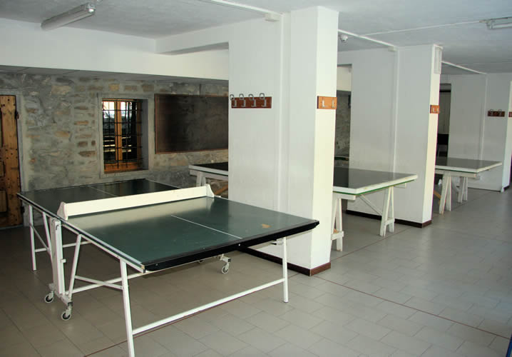 The games room within the Foyer Don Bosco