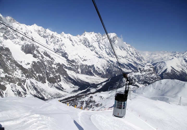 Courmayeur Ski Resort Information Interski Snowsports Holidays