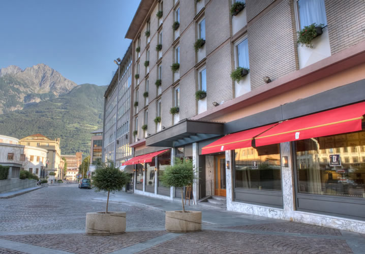 The Hotel Duca d'Aosta