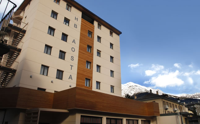 Exterior of the HB Aosta