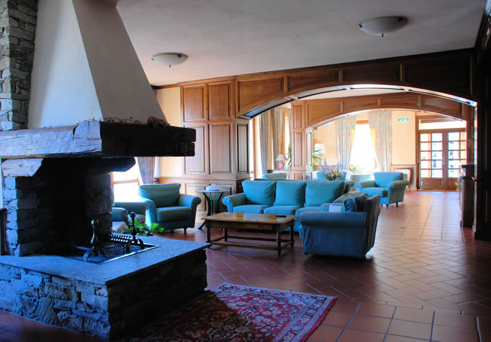 The Lounge Area of the Hotel Panoramique