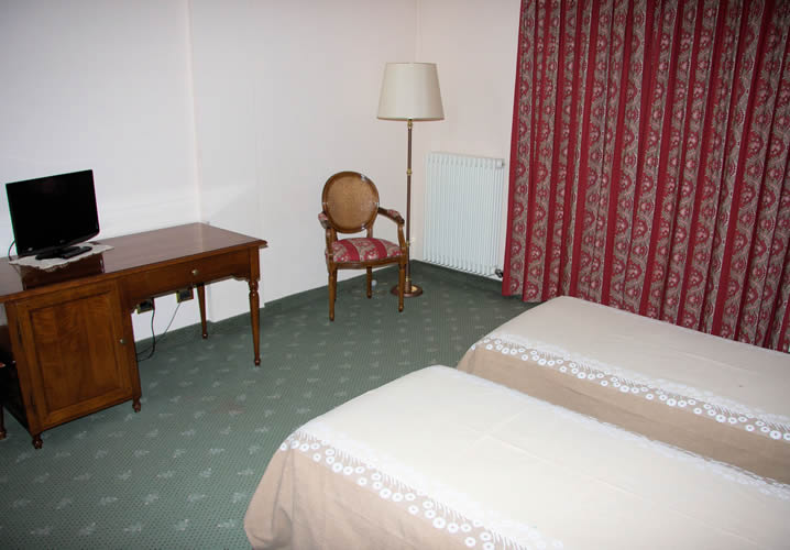 A Bedroom Within The Hotel Panoramique