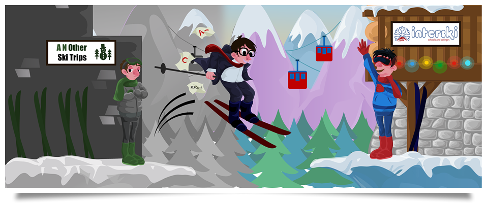 make the leap of faith with Interski's introductory offer