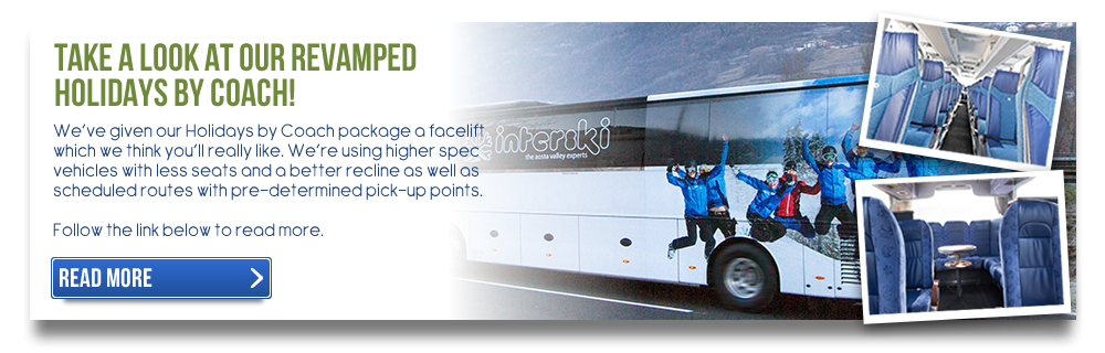 Take a Look At Our Revamped Holidays By Coach