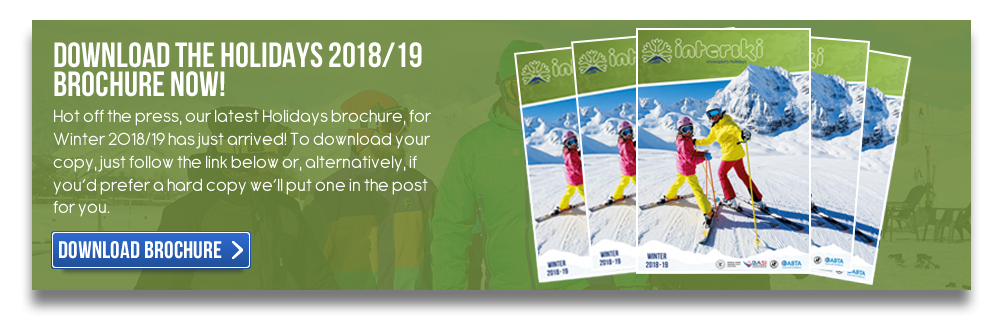 Download The Holidays 2018/19 Brochure Now!