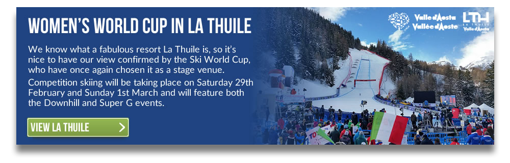 The Women's Ski World Cup Returns To La Thuile