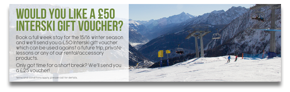 Would you like a £50 interski gift voucher?