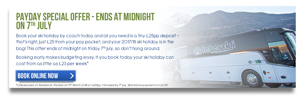 Payday Special Offer - Ends at Midnight on 7th July