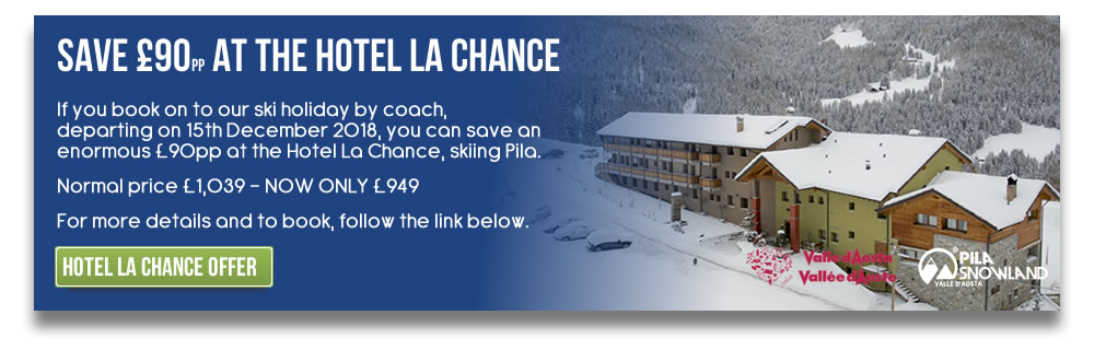 Save £90pp At The Hotel La Chance