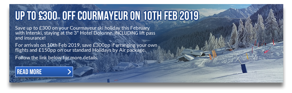 Save Up To £300pp At Courmayeur