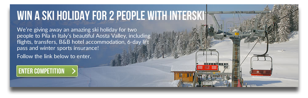 Win a Ski Holiday For 2 People!
