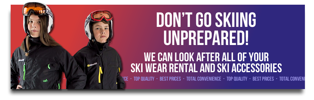 Don't Go Skiing Unprepared!