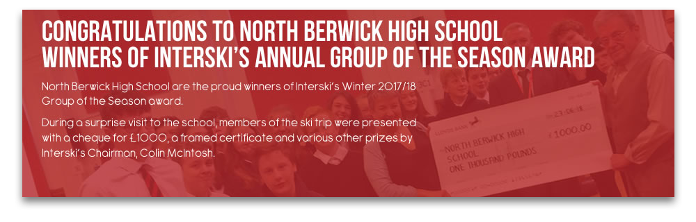 Congratulations to North Berwick High School