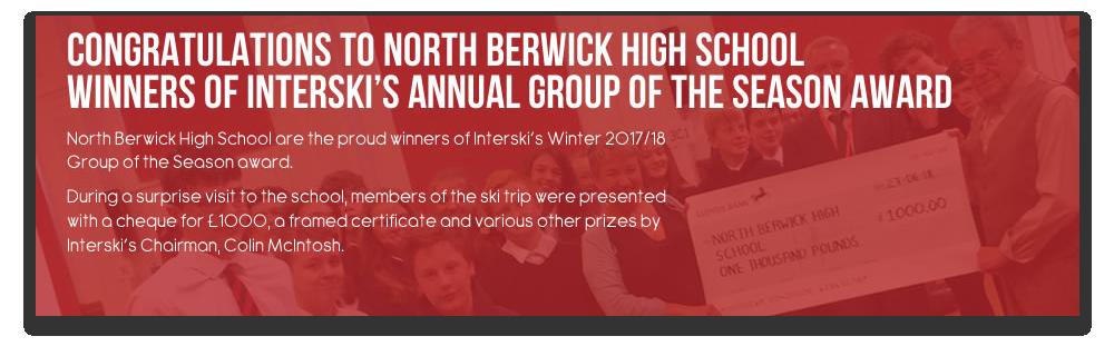 Congratulations to North Berwick High School