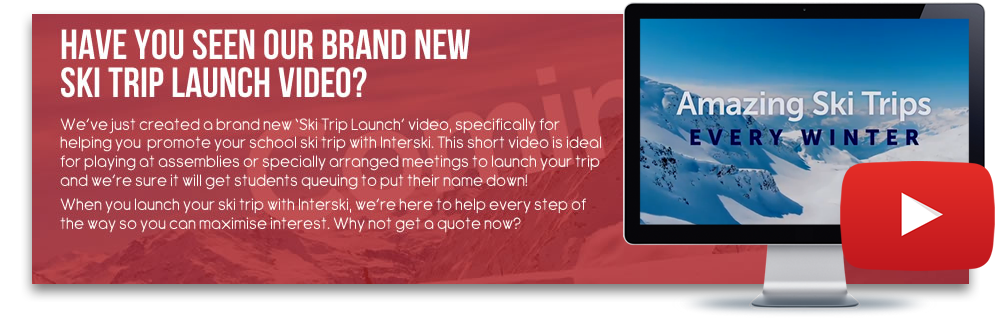 Have You Seen Our Brand New Ski Trip Launch Video?